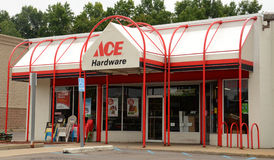Ace hardware store front Stock Photography