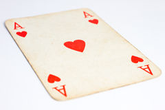 Ace of heart Stock Image