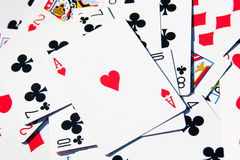 Ace of hearts Royalty Free Stock Photography
