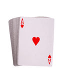 Ace hearts Royalty Free Stock Images