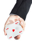 Ace of hearts Stock Images