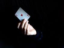 Ace of Hearts Royalty Free Stock Photos