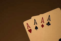 Ace High Hand Stock Image