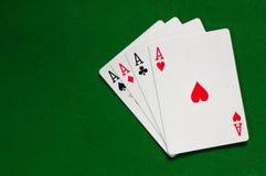 Ace-Hintergrund Stockbilder