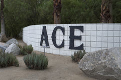 ACE-Hotel Palm Springs, Kalifornien Lizenzfreies Stockfoto