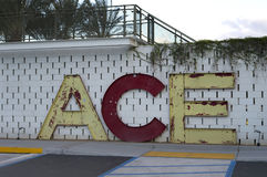 ACE-Hotel Palm Springs, Kalifornien Stockfotos