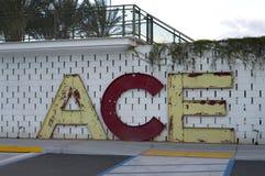 ACE-hotelpalm springs, Californië stock foto's