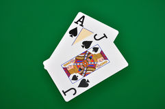 Ace and  jack Royalty Free Stock Images