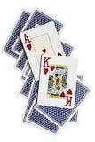 Ace, König Lizenzfreie Stockfotos