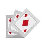 Ace pocker magic. Vector illustration eps 10 Royalty Free Stock Photos