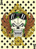 Ace skull Stock Photos