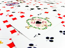 Ace spade Royalty Free Stock Image