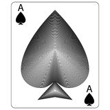 Ace of Spades Royalty Free Stock Image