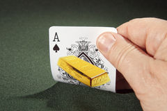 Ace of spades Stock Image