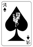Ace of Spades Mosaic Royalty Free Stock Images