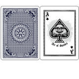 Ace of spades with skull Royalty Free Stock Photo