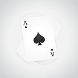 Ace of Spades Stock Photos