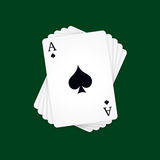 Ace of Spades Stock Images
