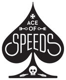 Ace Of Speeds motorcycle or car racing  design Royalty Free Stock Photography