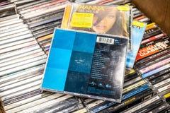 Ace van Basiscd album kiest van de jaren '90 op vertoning voor verkoop, beroemde Zweedse popgroep uit stock fotografie