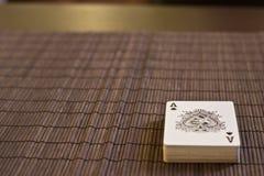 Ace van Spades Stock Afbeeldingen