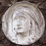 Ace von Jungfrau Maria (Fragment der Statue) Lizenzfreies Stockfoto
