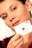 Ace woman 2 stock photos