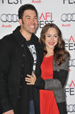 Ace Young & Diana DeGarmo Royalty Free Stock Images