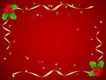 Acebo de la Navidad Foto de archivo libre de regalías