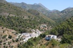 Acebuchal, Berge Sierra de Almijara, Nerja Stockbild
