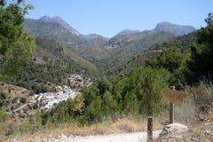 Acebuchal, montanhas de Serra de Almijara, Nerja imagem de stock royalty free