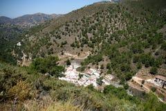 Acebuchal, Sierra de Almijara, Nerja Stockbild
