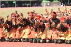 Aceh danser royaltyfria foton