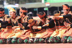 Aceh danser royaltyfria bilder