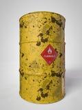 Aceite-barriles Fotografía de archivo