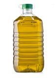 Aceite de la botella Imagen de archivo libre de regalías