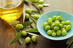 Aceite de oliva imagen de archivo libre de regalías