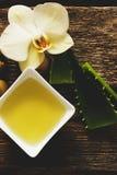 Aceite de oliva Imágenes de archivo libres de regalías