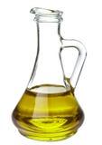Aceite de oliva aislado fotos de archivo
