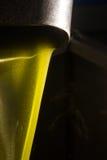 Aceite de oliva virginal adicional Fotografía de archivo libre de regalías