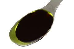 Aceite de semilla de calabaza Fotografía de archivo