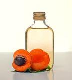 Aceite del albaricoque Imagen de archivo libre de regalías