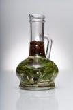 Aceite en garrafa Foto de archivo