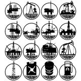 Aceite industry-1 Imágenes de archivo libres de regalías