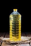 Aceite sano de la soja Imagen de archivo libre de regalías