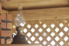 Aceite viejo de la lámpara Foto de archivo libre de regalías