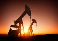 Aceite y industria energética Imágenes de archivo libres de regalías