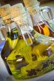 Aceites de oliva Fotografía de archivo