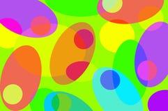 Aceitunas coloreadas Fotografía de archivo libre de regalías