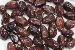 Aceitunas negras de Kalamata Fotos de archivo